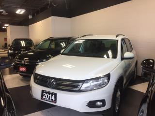 Used 2014 Volkswagen Tiguan 2.0 TSI TRENDLINE 6 SPEED A/C CRUSIE H/SEATS 141K for sale in North York, ON