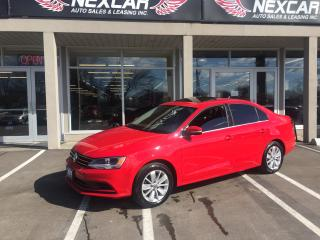 Used 2015 Volkswagen Jetta 2.0L TRENDLINE AUT0 A/C SUNROOF BACKUP CAMERA 48K for sale in North York, ON