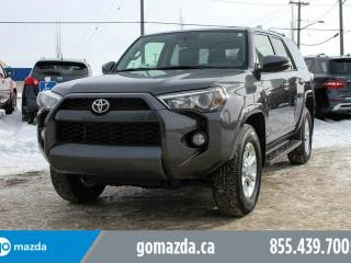 Used 2017 Toyota 4Runner SR5 PREMIUM 7 PASS LEATHER ROOF NAV U CAN EAT OFF THE ENGINE for sale in Edmonton, AB
