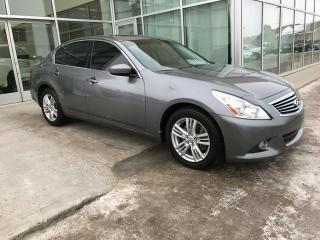 Used 2012 Infiniti G37 X ALL WHEEL DRIVE/SUN ROOF/HEATED SEATS/BACK UP CAMERA for sale in Edmonton, AB