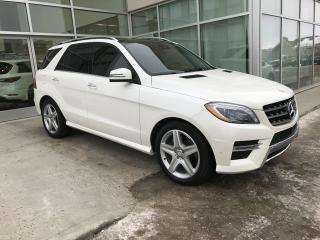 Used 2014 Mercedes-Benz ML-Class ALL WHEEL DRIVE/DIESEL/HEATED SEATS/PANORAMIC SUNROOF for sale in Edmonton, AB