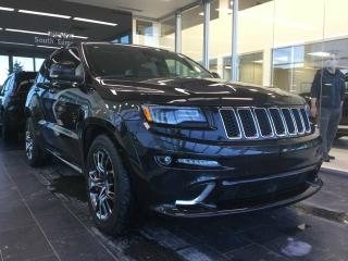 Used 2015 Jeep Grand Cherokee SRT, NAVI, 475HP, 4WD for sale in Edmonton, AB