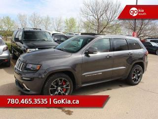 Used 2014 Jeep Grand Cherokee SRT; 470 HP, FULLY LOADED, AWD, NAV, LEATHER, SUNROOF, for sale in Edmonton, AB