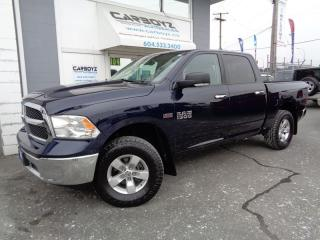 Used 2013 Dodge Ram 1500 SLT Luxury, Crew 4x4, Nav, Rear Camera, BC Truck for sale in Langley, BC