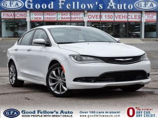 Used 2016 Chrysler 200 S MODEL, FWD, LEATHER SEATS, PANORAMA ROOF, NAV for sale in North York, ON
