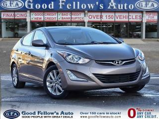 Used 2016 Hyundai Elantra SPORT APPEARANCE MODEL, SUNROOF, HEATED SEATS for sale in North York, ON