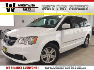 Used 2015 Dodge Grand Caravan Crew Plus|7 PASSENGER|NAVIGATION|DVD|95,142 KMS for sale in Cambridge, ON