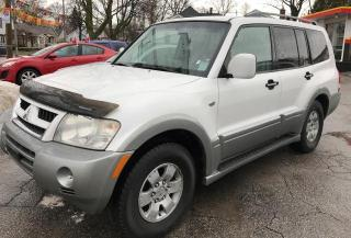 Used 2003 Mitsubishi Montero XLS 4WD for sale in St Catharines, ON