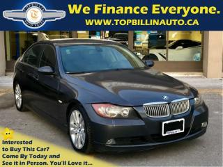 Used 2006 BMW 325 i LEATHER SUNROOF, YEARS WARRANTY for sale in Concord, ON