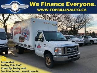 Used 2011 Ford E450 Cube Van, Cargo Van 2 years Warranty for sale in Concord, ON