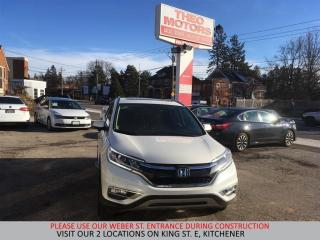 Used 2015 Honda CR-V Touring | LANE KEEP ASSIST | NAV | MULTI CAMERA for sale in Kitchener, ON
