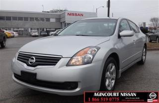 Used 2009 Nissan Altima Sedan 2.5 SL CVT Accident Free|Bluetooth| |Sunroof for sale in Scarborough, ON