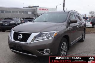 Used 2013 Nissan Pathfinder SL V6 4x4 at |Backup Camera|Bluetooth|Rear Parking for sale in Scarborough, ON
