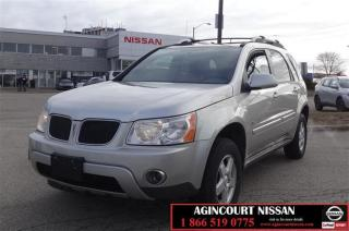 Used 2008 Pontiac Torrent 4D Utility FWD |AS-IS Supersaver| for sale in Scarborough, ON