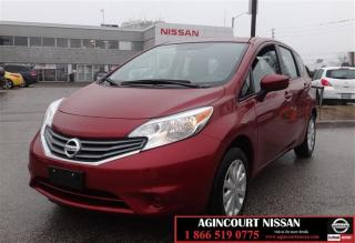 Used 2016 Nissan Versa Note Hatchback 1.6 SV CVT |Backup Camera| Bluetooth| Cr for sale in Scarborough, ON