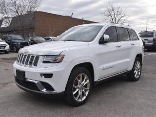 Used 2014 Jeep Grand Cherokee Summit DIESEL, NAVIGATION, SUNROOF !!! for sale in Concord, ON