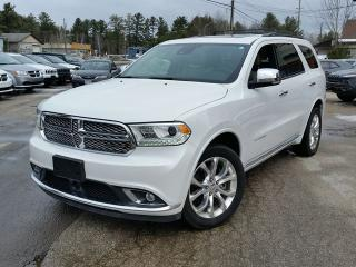 Used 2017 Dodge Durango Citadel for sale in Gravenhurst, ON