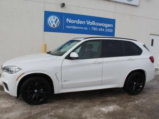 Used 2016 BMW X5 xDrive35i/ M Sport/ LED's/ Upgraded Interior / 2 Sets of Tires/ Low kms! for sale in Edmonton, AB