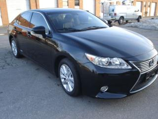 Used 2015 Lexus ES 300 hybrid,blk/blk navi,sunroof for sale in Mississauga, ON