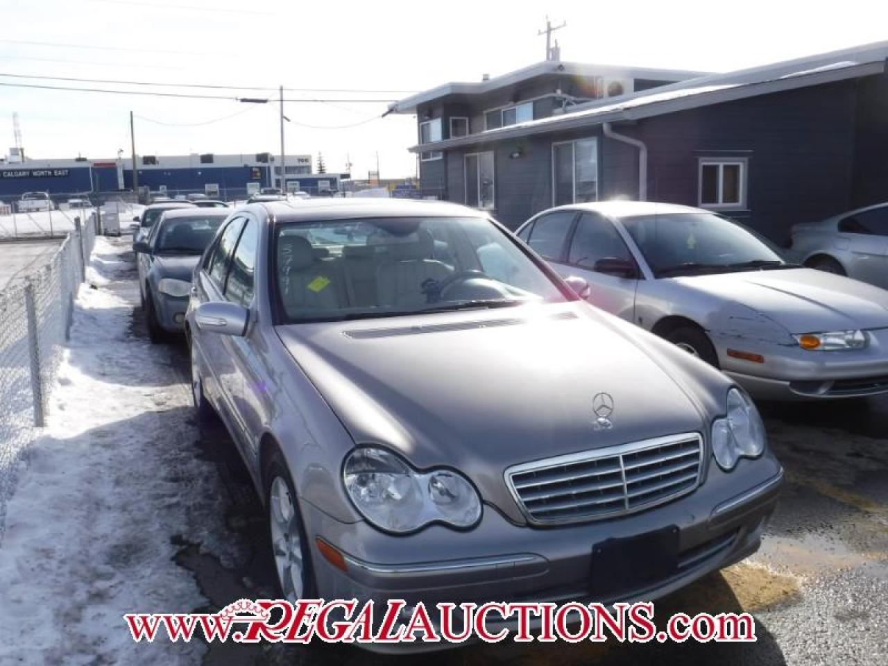 Photo of Brown 2007 Mercedes-Benz C-CLASS C280 4D SEDAN 4MATIC
