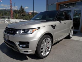 Used 2014 Land Rover Range Rover Sport Autobiography V8 Supercharged for sale in North Vancouver, BC