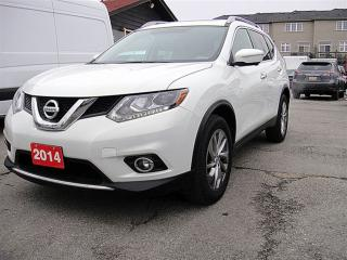 Used 2014 Nissan Rogue SL, NAVI, CAM, LEATHER, AWD for sale in Aurora, ON