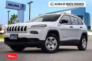 Used 2017 Jeep Cherokee 4x4 Sport Accident Free| Back-Up Cam| Remote Start for sale in Thornhill, ON