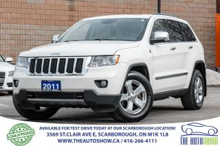 Used 2011 Jeep Grand Cherokee Limited NAVI BackupCam Sunroof Leather One-Owner for sale in Scarborough, ON