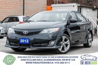 Used 2012 Toyota Camry SE NAVI Sunroof Leather-Suede BackupCam for sale in Caledon, ON