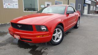 Used 2007 Ford Mustang CONVERTIBLE-PWR TOP for sale in Tilbury, ON