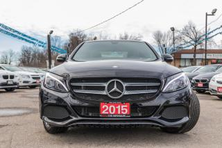 Used 2015 Mercedes-Benz C-Class C300/NAVI/1 OWNER/NO ACCIDENT/PANO ROOF for sale in Brampton, ON