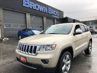 Used 2011 Jeep Grand Cherokee Overland, Local, All options, Financing for sale in Surrey, BC