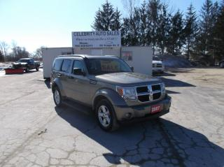 Used 2007 Dodge Nitro 4x4 SLT for sale in Elmvale, ON