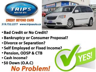 Used 2016 Chrysler Town & Country TOURING for sale in Brantford, ON