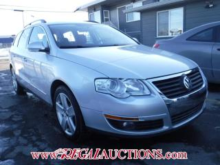 Used 2009 Volkswagen PASSAT  4D WAGON 2.0 for sale in Calgary, AB