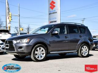 Used 2010 Mitsubishi Outlander GT ~Nav ~Backup Cam ~Heated Leather for sale in Barrie, ON