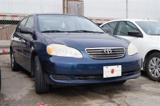 Used 2007 Toyota Corolla CE | AUTO | POWER MIRRORS | A/C | AM/FM/CD for sale in North York, ON