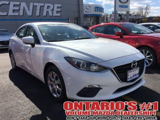 Used 2016 Mazda MAZDA3 GX / CONVENIENCE PKG / BLUETOOTH-TORONTO for sale in North York, ON