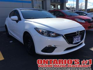 Used 2015 Mazda MAZDA3 GS/SKYACTIV/HEATED SEATS / ONE OWNER!!!!-TORONTO for sale in North York, ON