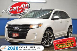 Used 2014 Ford Edge Sport AWD LEATHER NAV PANO ROOF HTD SEATS CAM for sale in Ottawa, ON