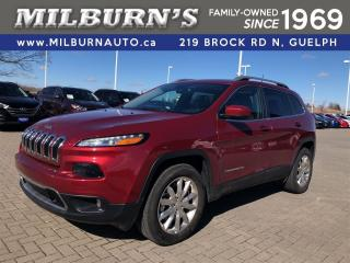 Used 2017 Jeep Cherokee Limited /4X4 for sale in Guelph, ON