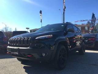 Used 2018 Jeep Cherokee Trailhawk**BLND SPT**PANO ROOF**NAV** for sale in Mississauga, ON
