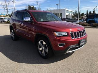 Used 2014 Jeep Grand Cherokee Limited - Leather, 4x4 for sale in Surrey, BC