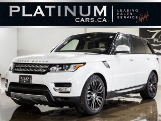 Used 2016 Land Rover Range Rover Sport HSE Td6, NAVI, PANO, CAM, HEATED F/R SEATS for sale in North York, ON