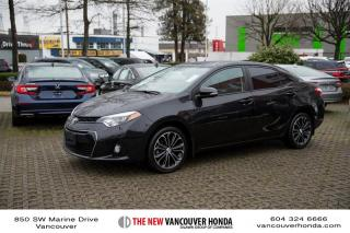 Used 2016 Toyota Corolla 4-door Sedan S CVTi-S for sale in Vancouver, BC