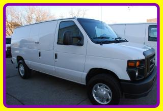 Used 2012 Ford E350 1 Ton Econoline Cargo Van, Loaded, LOW KM! for sale in Woodbridge, ON