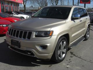 Used 2014 Jeep Grand Cherokee Overland Diesel 4WD for sale in London, ON