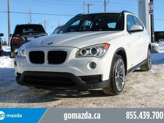 Used 2014 BMW X1 TECH PKG LEATHER PANO ROOF NAV M WHEELS NO ACCIDENTS for sale in Edmonton, AB