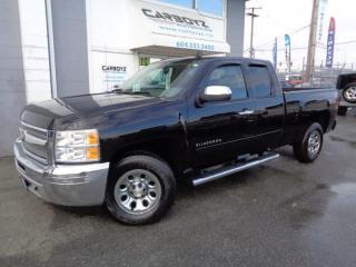 Used 2013 Chevrolet Silverado 1500 LS 4x4, Ext. Cab 6.5 Box, Super Clean for sale in Langley, BC