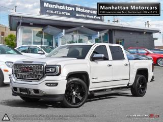 Used 2016 GMC Sierra 1500 DENALI 4X4 |NAV|CAMERA|ROOF|LEATHER|WARRANTY|40KM for sale in Scarborough, ON